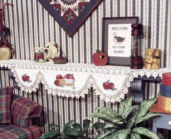 Christmas Mantel Scarf Pattern Free Patterns